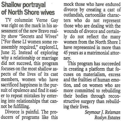 Newsday Article 6.7.15